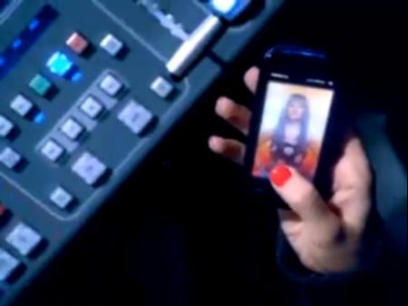 Il Nokia 5800 XpressMusic e Christina Aguilera