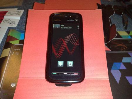 Nokia 5800 XpressMusic - fronte