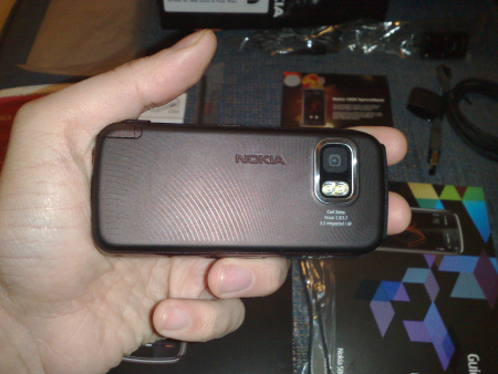 Nokia 5800 XpressMusic - retro