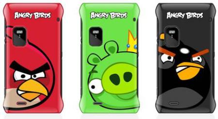 Cover di Angry Birds per i Nokia