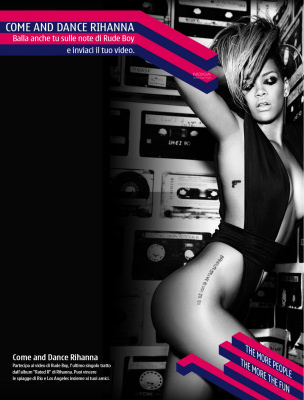 """Come and dance Rihanna"""