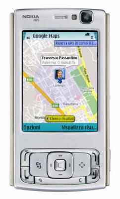 Google Latitude sul Nokia N95