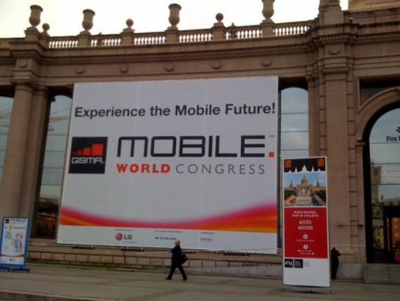 Ingresso al GSMA Mobile World Congress 2009 (foto da http://zannel.com/u/XPUSHOB6ZV)