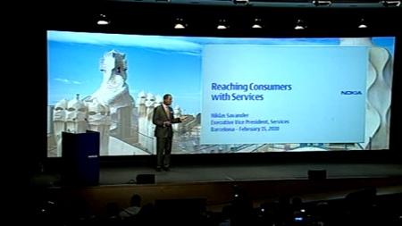 Conferenza Nokia a Barcellona