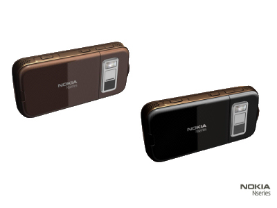 Nokia N85 Copper e Dark Grey