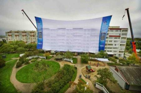 Nokia N8 e lo schermo più grande del mondo