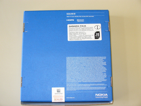Nokia N8, l'unboxing