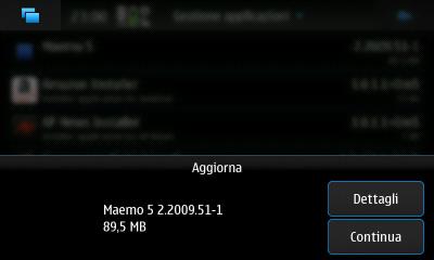 Nokia N900 - Firmware 2.2009.51-1 (PR 1.1)