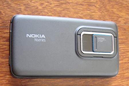 Nokia N900 - retro