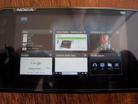 Nokia N900 - navigazione