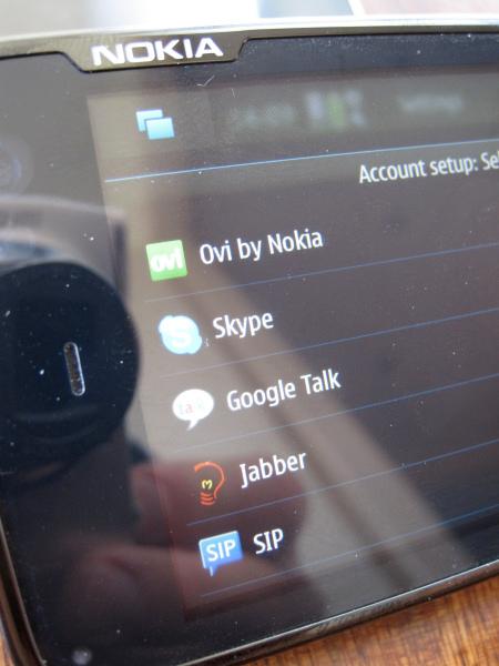 Nokia N900 - servizi