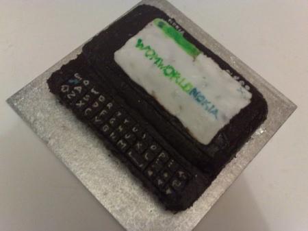 Nokia N900 - La torta di WOMWorld/Nokia