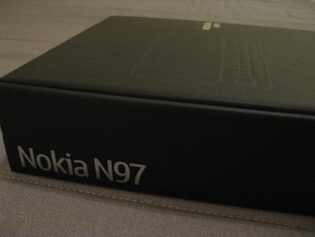 Nokia N97: la scatola
