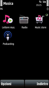 Nokia Music Store sul Nokia 5800 XpressMusic