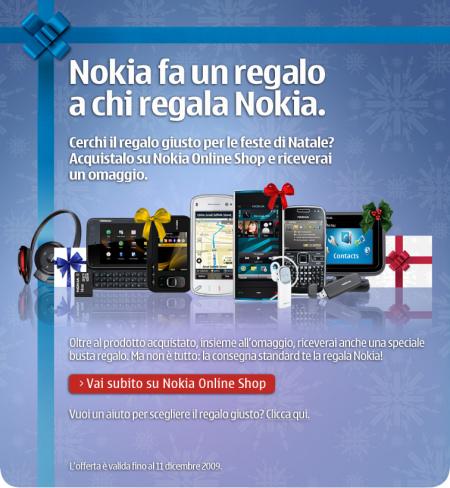 «Nokia fa un regalo a chi regala Nokia»