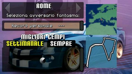 Ovi Maps Racing - Roma
