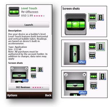 Aggiornamento per Ovi Store - screenshot