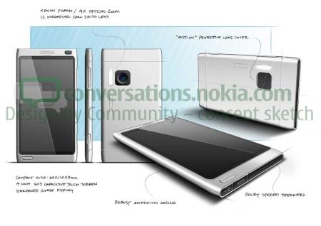Uno dei rendering del Nokia U