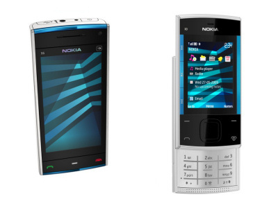 Nokia X6 e X3