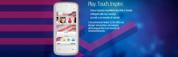 Presentato il Nokia 5230