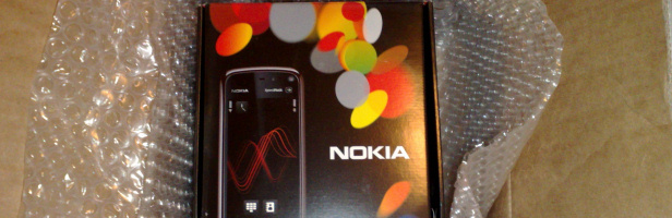 Nokia 5800 XpressMusic: unboxing