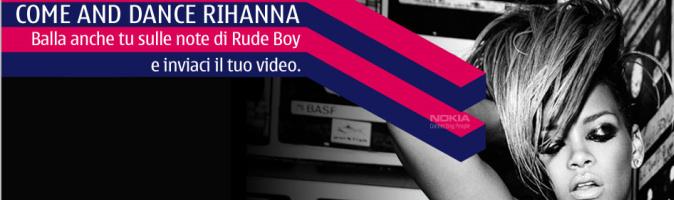 """""""Come and dance Rihanna"""", balla """"Rude Boy"""" in piazza il 24 aprile"""