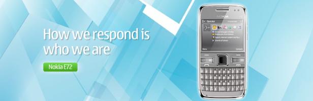 Presentato il Nokia E72