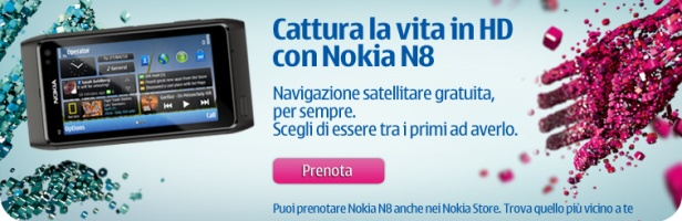 Prenotabile il Nokia N8