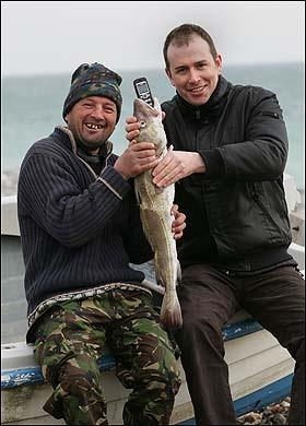 Andrew Cheatle e Glen Kerley (foto The Sun)