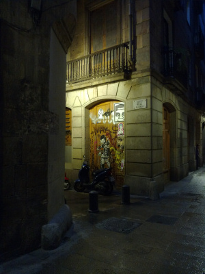 Foto notturna scattata con un Nokia N86 8MP