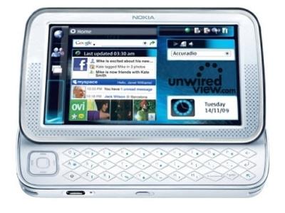Nokia netbook? (ricostruzione di unwiredview.com)